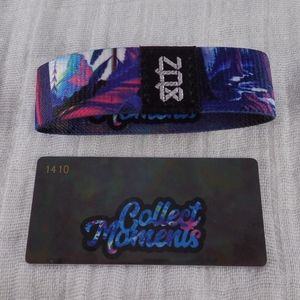 Zox Collect Moments Wristband Strap - New